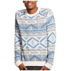 MOSSIMO SUPPLY CO. AZTEC PRINT SWEATER